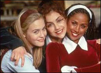 Alicia Silverstone, Brittany Murphy et Stacey Dash