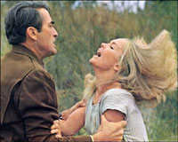 Gregory Peck et Tuesday Weld