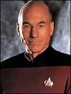 Patrick Stewart / capitaine Picard